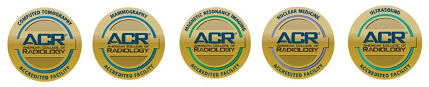 Computed Tomography Radiology Accreditation, Mammography Radiology Accreditation, Magnetic Resonance Imaging Radiology Accreditation, Nuclear Medicine Radiology Accreditation, Ultrasound Radiology Accreditation